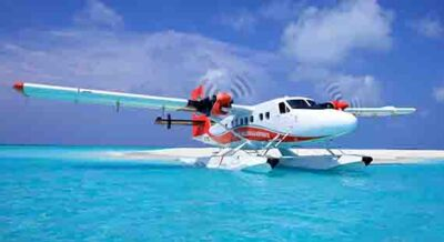 Scenic Flight Maldives