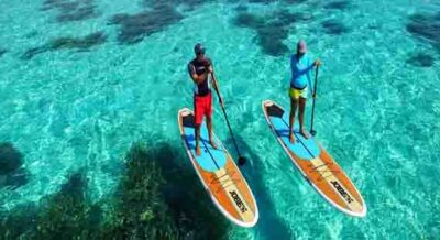 Stand Up Paddleboarding Maldives